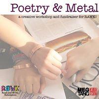 RAWK Fundraiser - Poetry &amp Metal