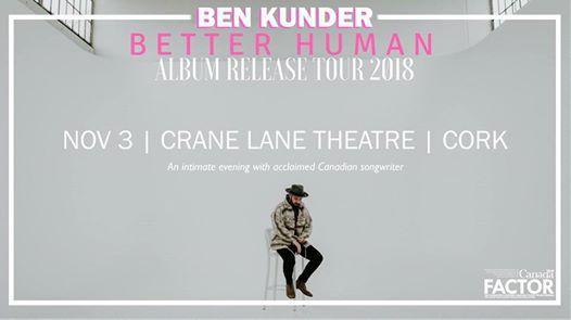 Ben Kunder  Crane Lane Theatre