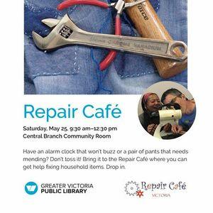 victoria repair cafe