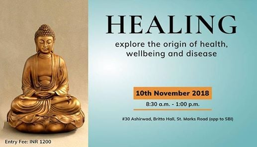 Healing- explore the origin of health wellbeing and disease