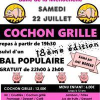 18me dition du Cochon grill du Handball Club