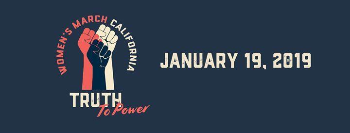 Womens March - Santa Barbara 2019 Truth to Power