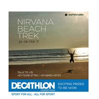 Nirvana Beach trek 24-26 Feb with Decathlon Hennur