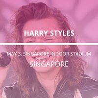 Harry Styles in Singapore