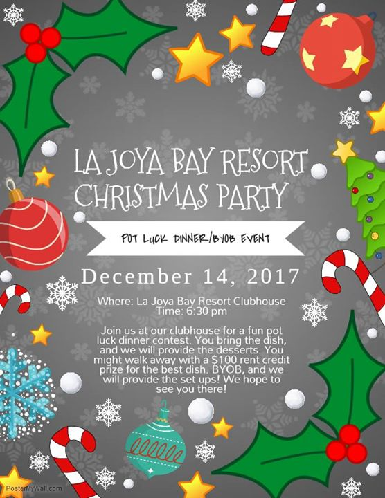 La Joya Bay Resort Resident Christmas Party Corpus Christi