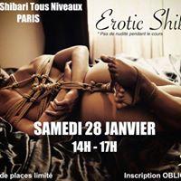 Cours Shibari Tous Niveaux  Erotic Shibari  FULL