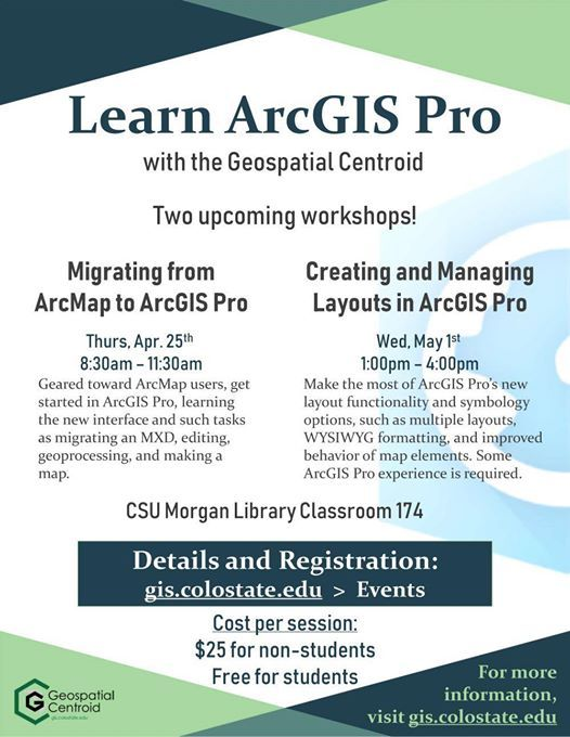 Migrating from ArcMap to ArcGIS Pro at Geospatial Centroid