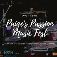 The Fifth Annual Paiges Passion Music Fest