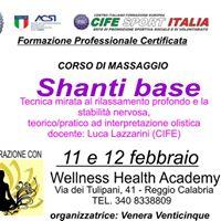 Corso shanti base - Reggio Calabria