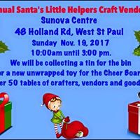 3rd Annual Santas Little Helpers Craft Show