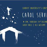 Christmas Carol Service - Cardiff