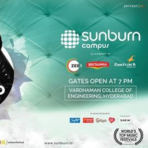 Sunburn Campus with Edward Maya &amp Shashank - Hyderabad