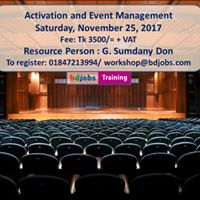 Activation and Event Management