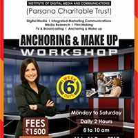 6 Days Anchoring and Make Up Workshop