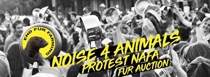 Noise 4 Animals - Protest NAFA fur auction - Toronto