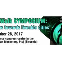 CityWalk Symposium Steps towards liveable cities