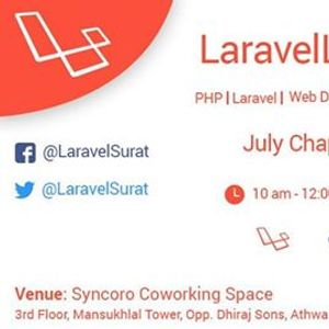 Laravel Surat Meetup July 2019 Chapter