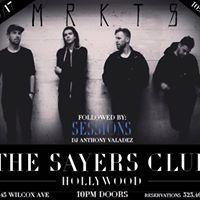 MRKTS  The Sayers Club Hollywood