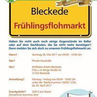Frhlingsflohmarkt Raiffeisen-Markt Bleckede