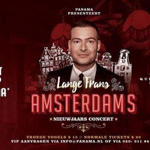 Panama presenteert Lange Frans Amsterdam Nieuwjaarsconcert