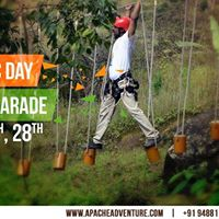 The Republic Day Adventure Parade at Kodaikanal