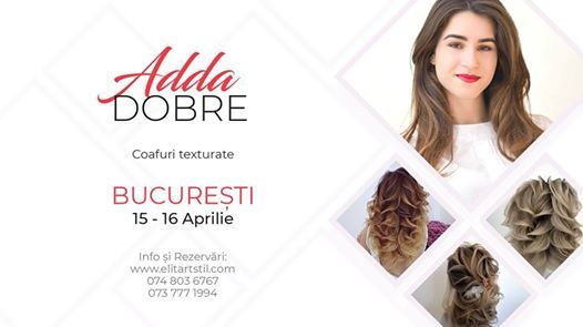 Coafuri texturate by Adda Dobre