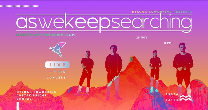 LIVE in Concert  aswekeepsearching