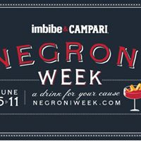 3rd Annual Negroni Week Kick Off &amp Competition at Proof YYC