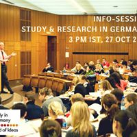 Info-Session Study &amp Research in Germany