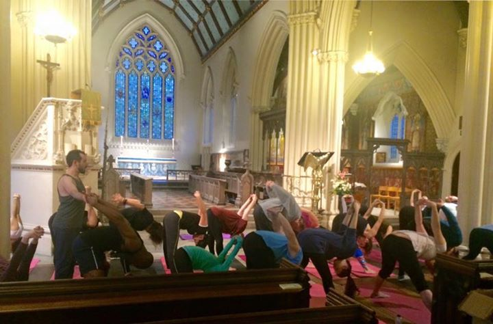 Yoga at St Stephens