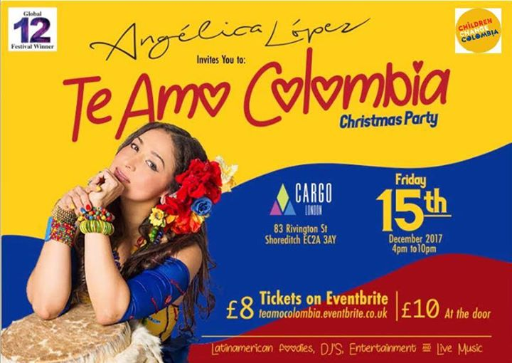 Te Amo Colombia Christmas Party