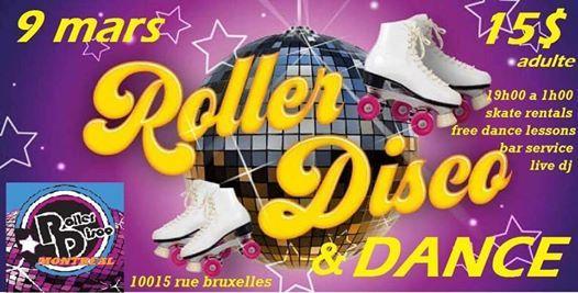Roller et Danse Disco Montreal