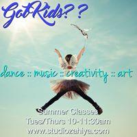 Kids Summer Dance  Creativity Classes