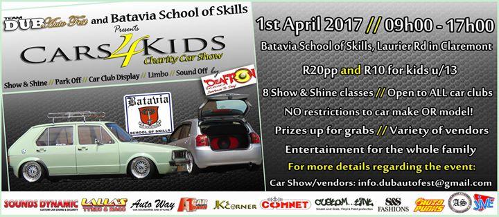 cars 4 kids charity car show