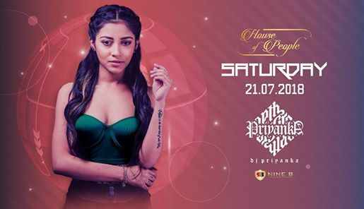 Saturday Night with DJ Priyanka