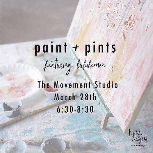 Paints & Pints with Lululemon