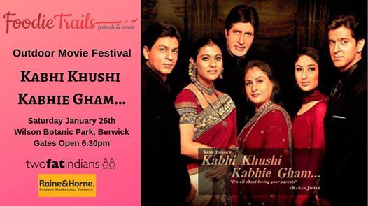 Outdoor Movie Festival- Kabhi Khushi Kabhie Gham