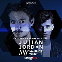 Julian Jordan &amp Maurice West at Stereo Live  Dallas
