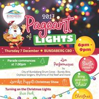 Larrikin Puppets at 2017 Pageant of Lights