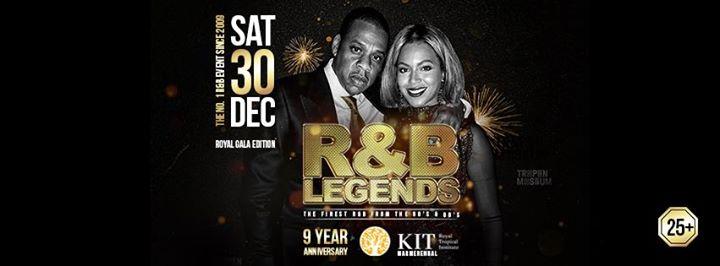 R&B Legends 9 Year Anniversary