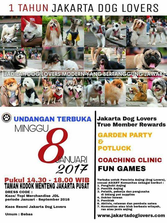 Ultah Jakarta Dog Lovers