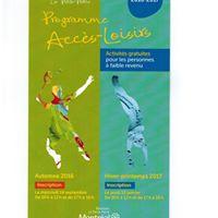 Inscription Programme Acces-loisirs