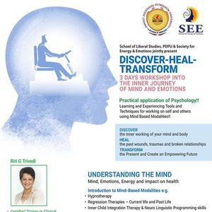 Discover-Heal-Transform (Inner Journey I)
