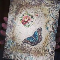 Decoupage on Canvas workshop