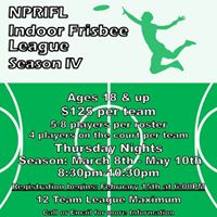 Indoor Frisbee League Season IV
