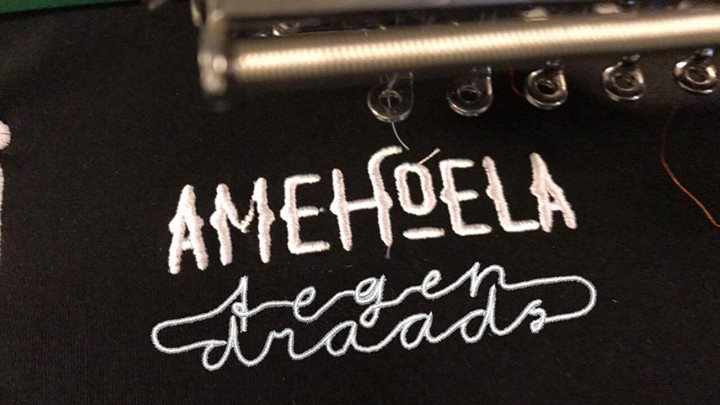Amehoela X Tegendraads - Release party