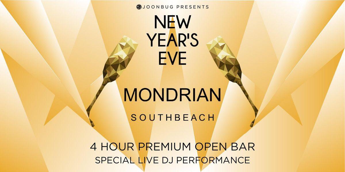 South Beach New Years Eve 2020 Joonbug.Presents Mondrian South Beach Hotel New Years Eve