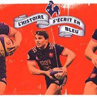Rugby  Tourne dAutomne France - Afrique du Sud