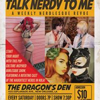 1216 Talk Nerdy To Me A Weekly Nerdlesque Revue