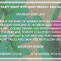 Summer Party Night with Gary Priestly &amp Suzi Madin